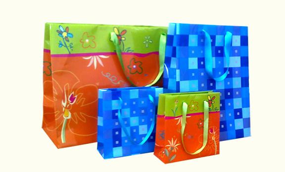 подаръчни хартиени торби